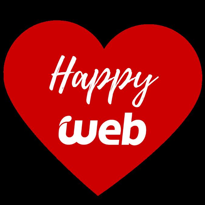 happy web - WordPress felizmente alojado en Webempresa